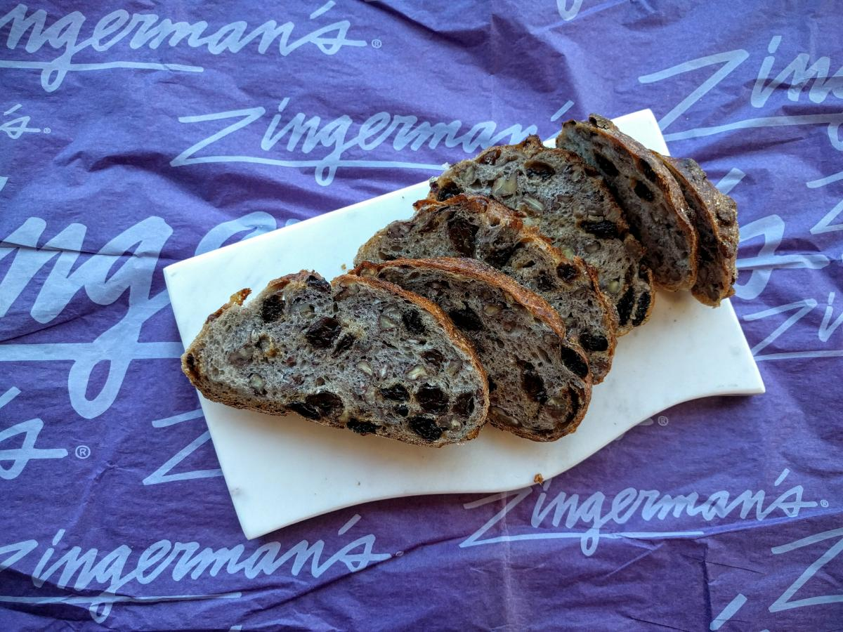 Zingerman's Bakehouse Pecan Raisin Bread
