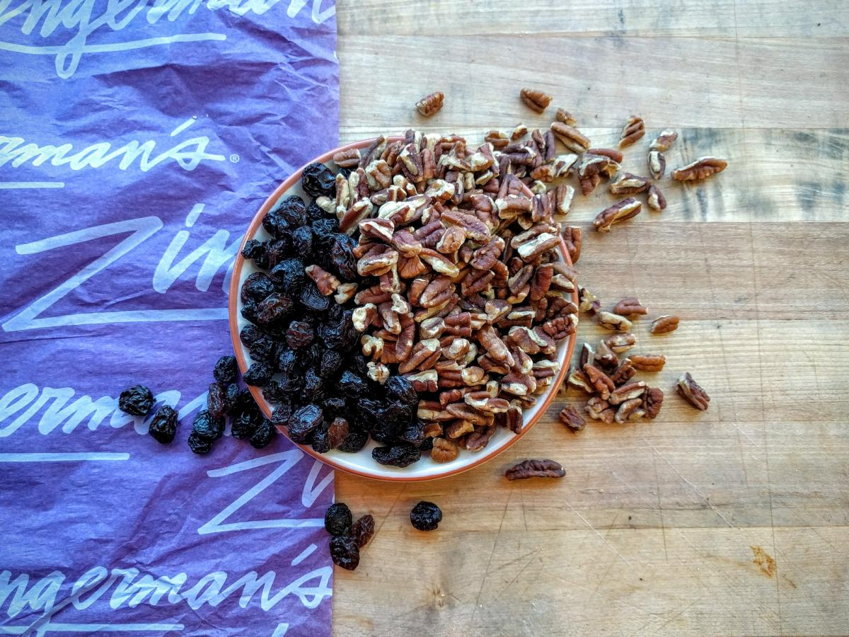 Half Pound of Pecans and Raisins Zingerman's Bakehouse