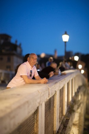daniel leader on a bridge
